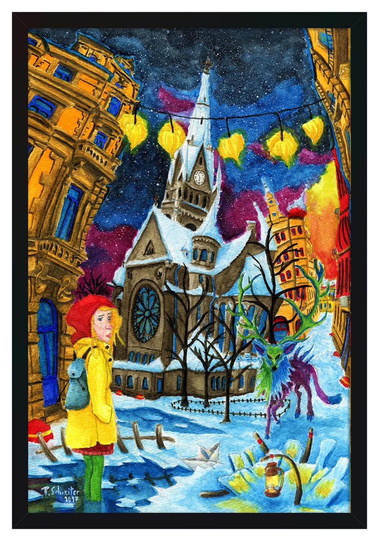 Neustädter Weihnacht [Kunstdruck]