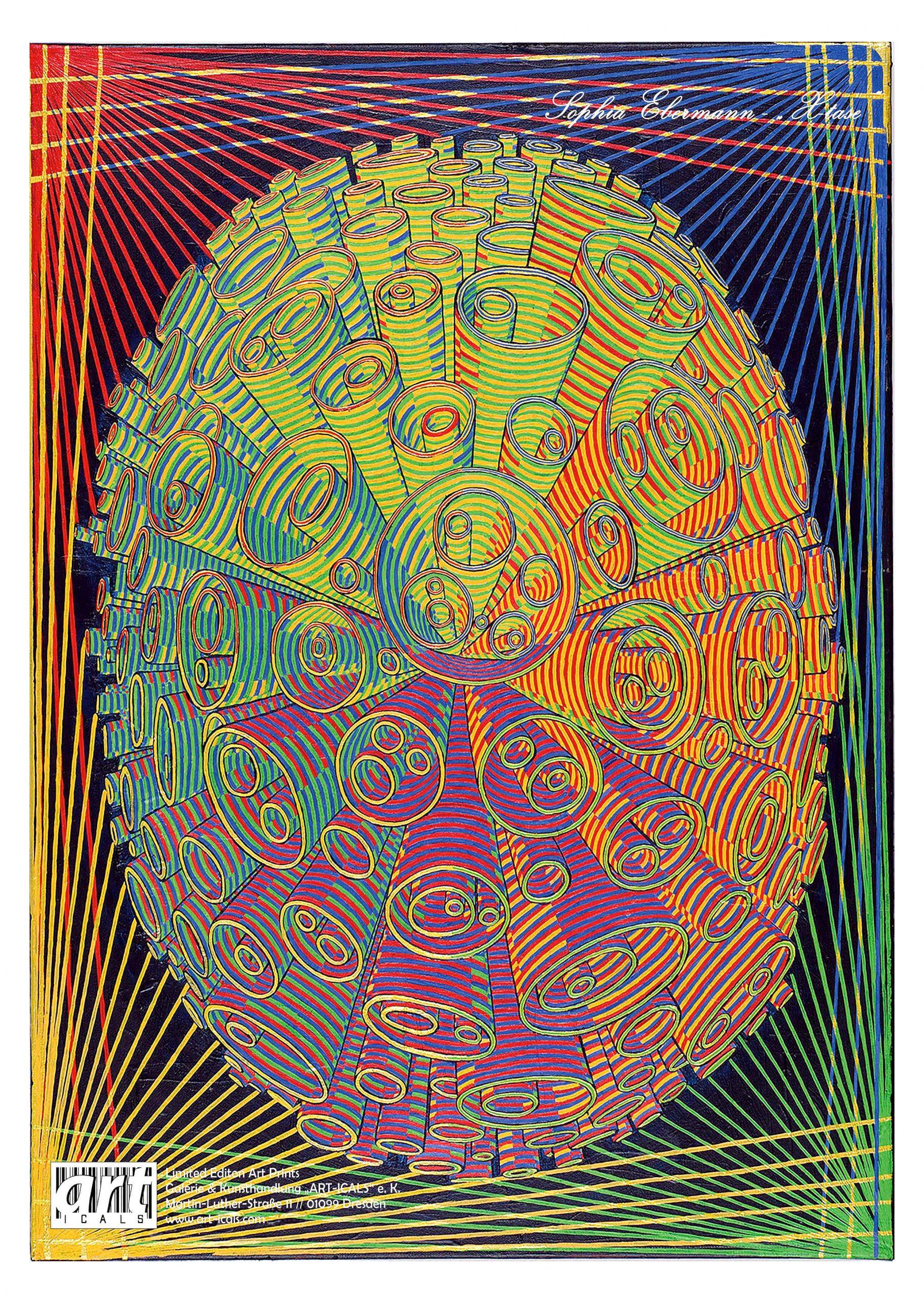 X-tase [Kunstdruck - Poster]