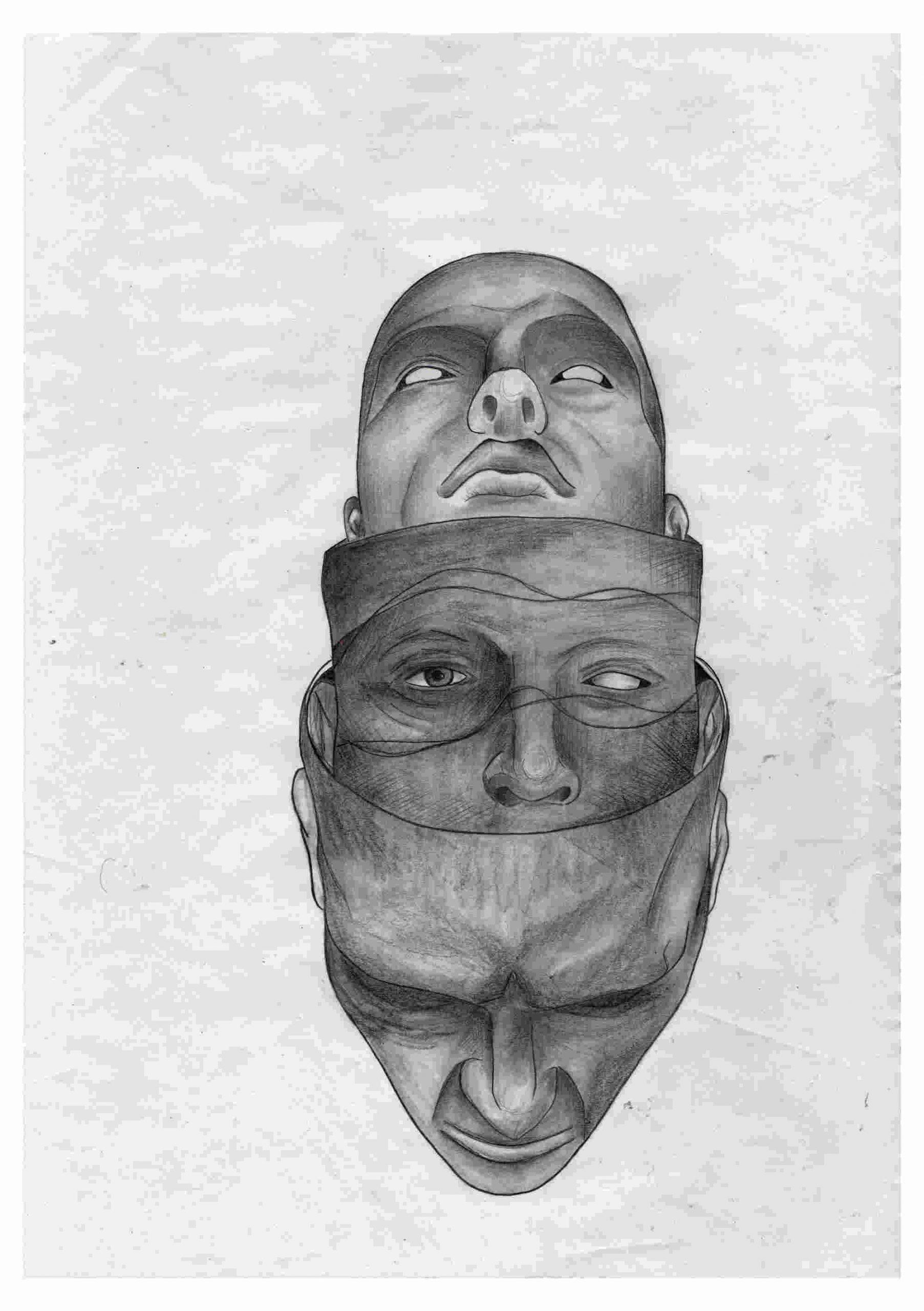 Die Drei Gesichter im Kopf