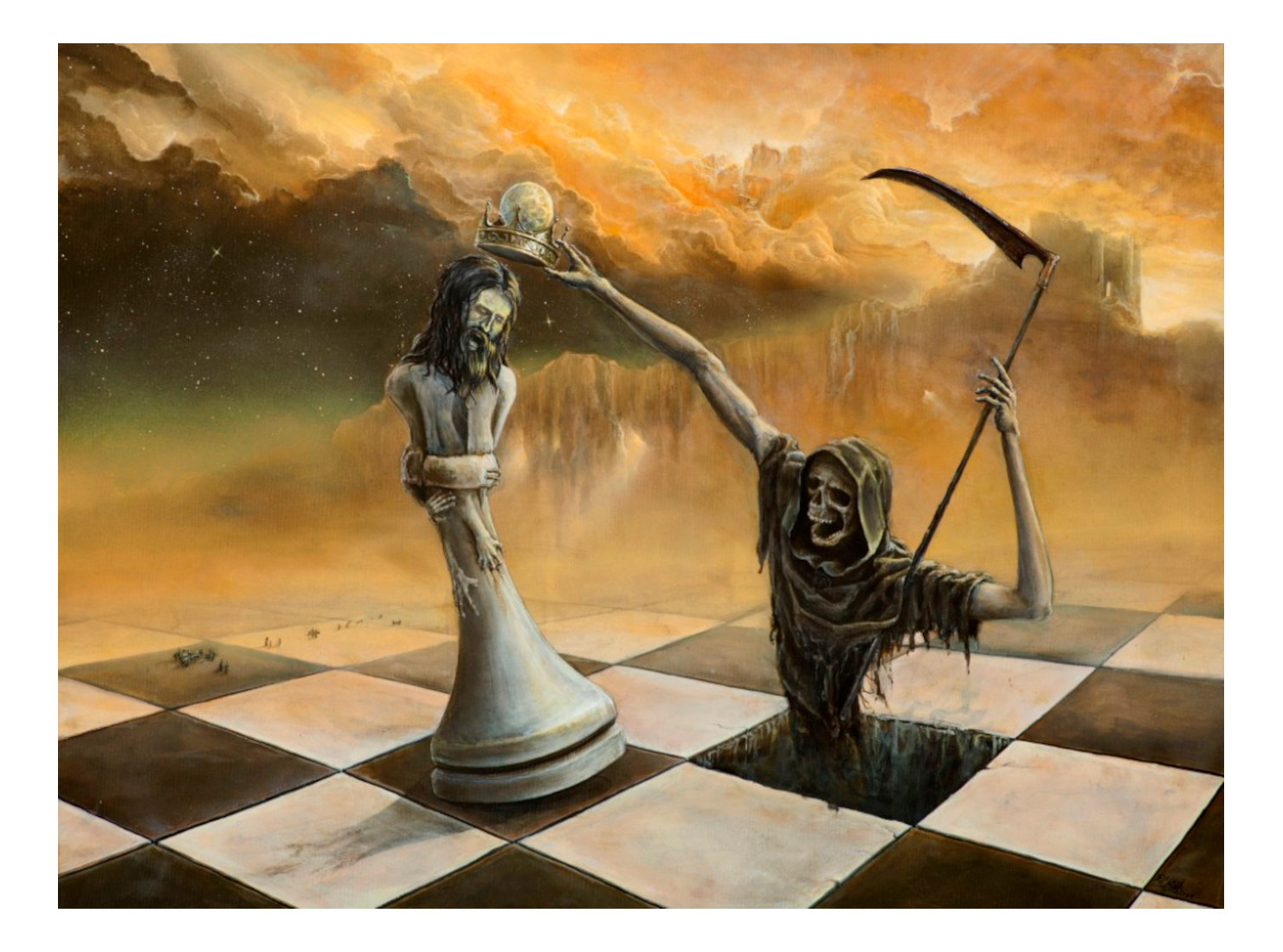 Schachmatt [Art-Print]