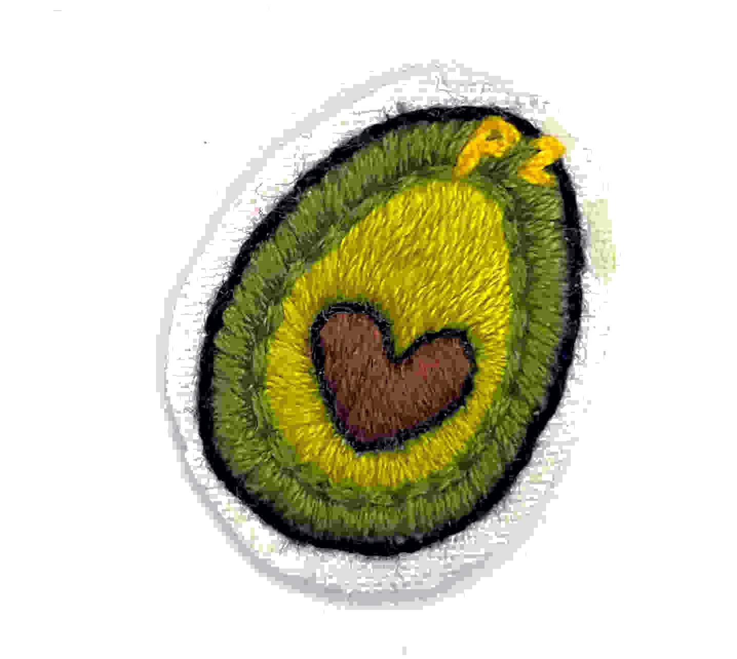 PIAZZA's PATCHES - Avocado