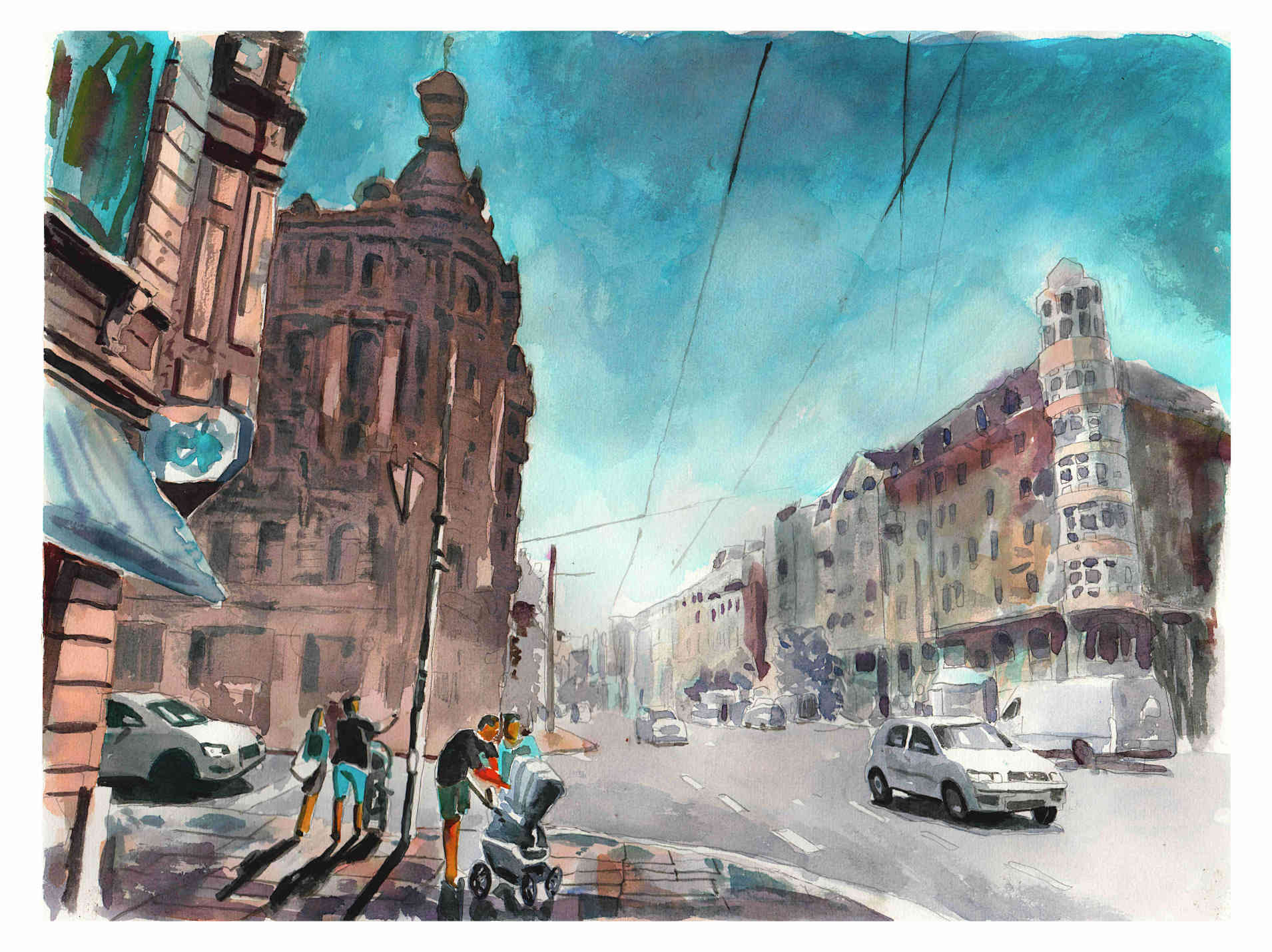 Stadtportrait Dresden - Bautzner Straße